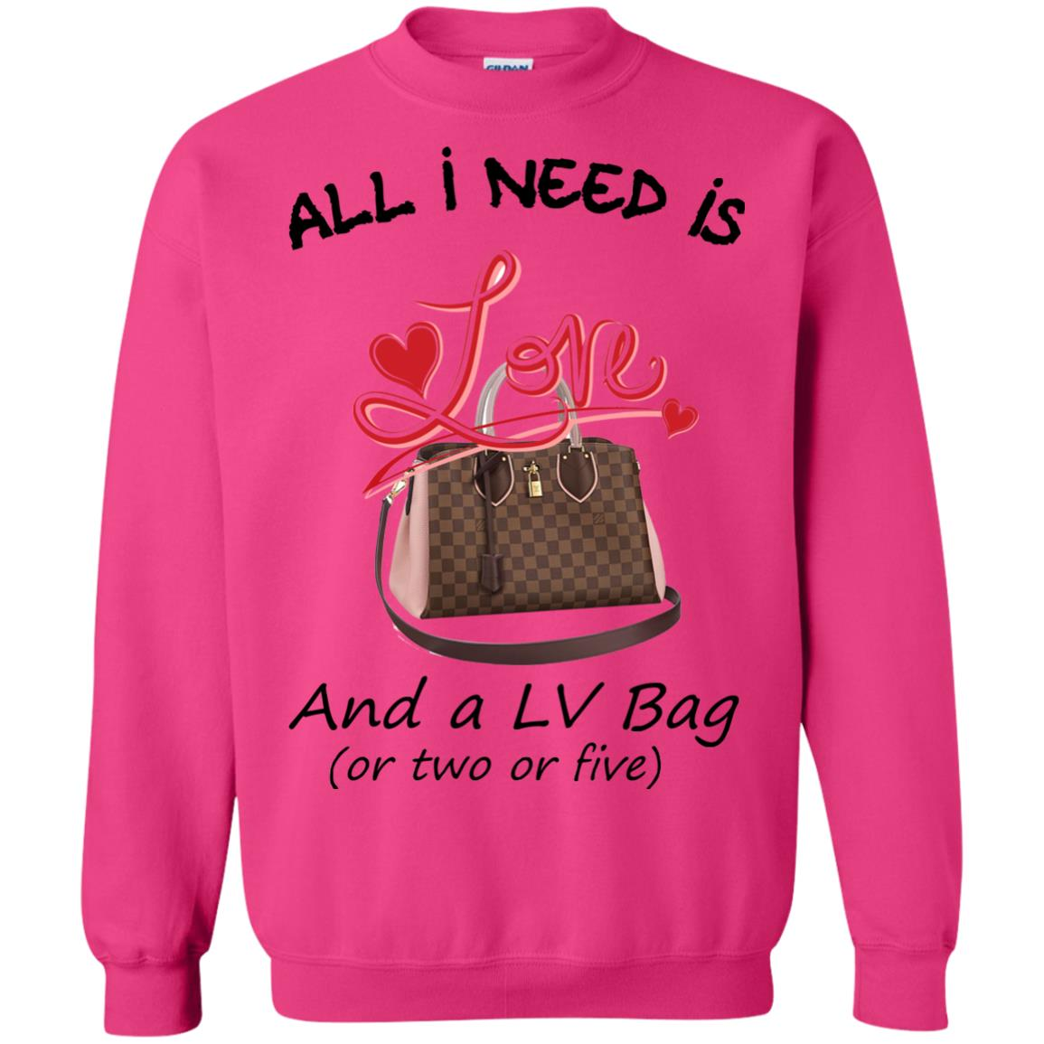 image 448px All I Need Is Love and a LV Bag or Two or Five Sweater
