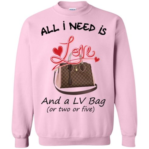 image 449 490x490px All I Need Is Love and a LV Bag or Two or Five Sweater