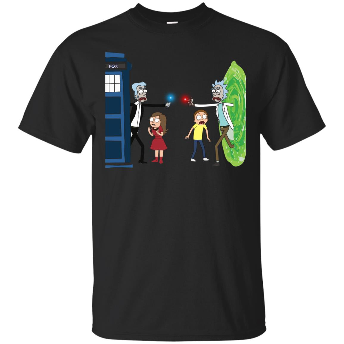 image 45px Doctor Who vs Rick and Morty Mashup T Shirts, Hoodies, Tank Top