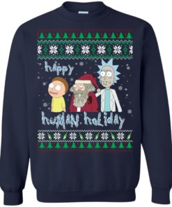 image 452 247x296px Rick and Morty: Happy Human Holiday Christmas Sweater