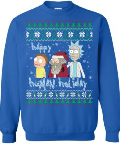 image 455 247x296px Rick and Morty: Happy Human Holiday Christmas Sweater