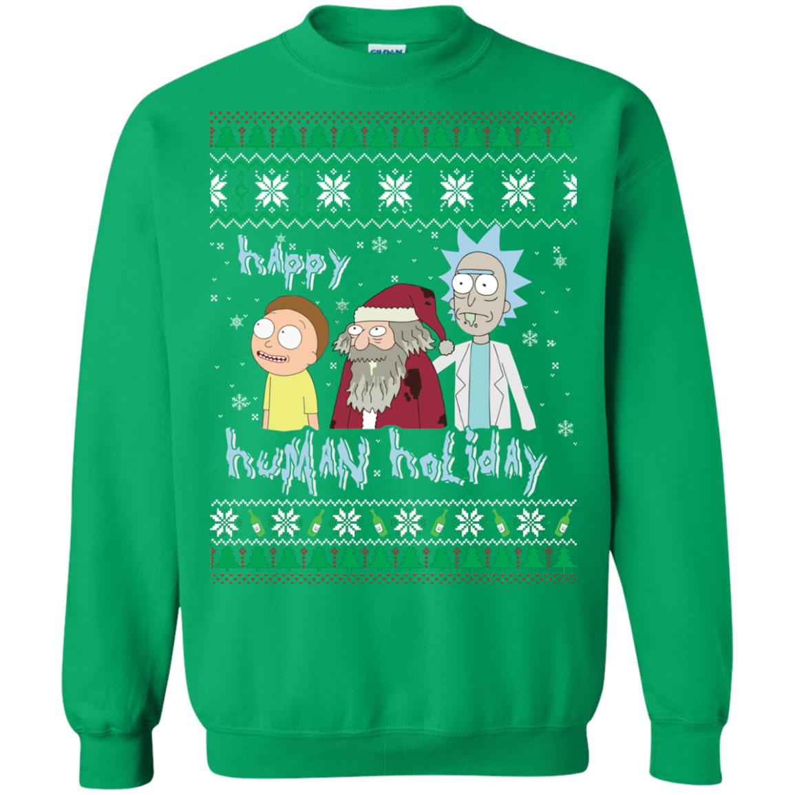 image 459px Rick and Morty: Happy Human Holiday Christmas Sweater