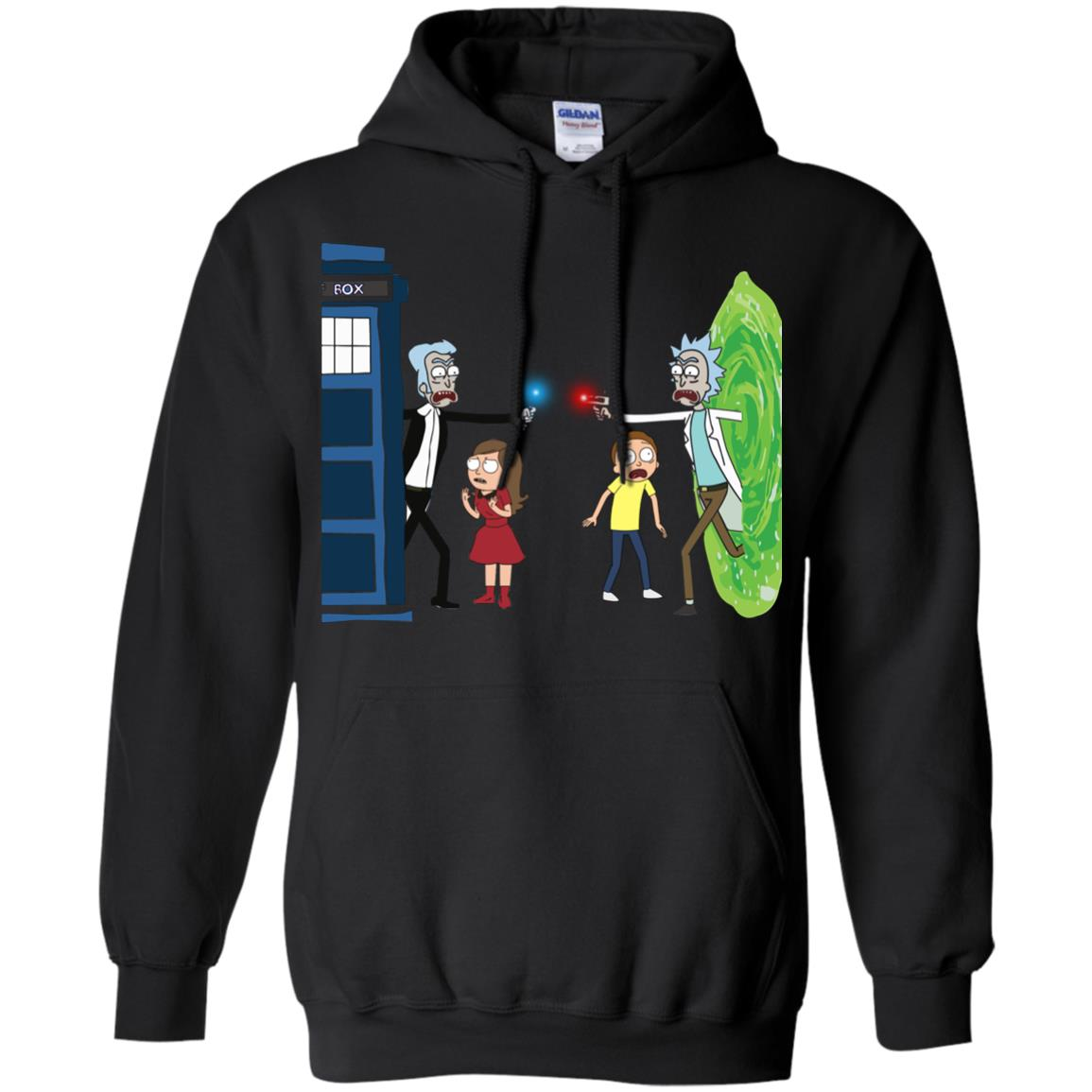 image 48px Doctor Who vs Rick and Morty Mashup T Shirts, Hoodies, Tank Top
