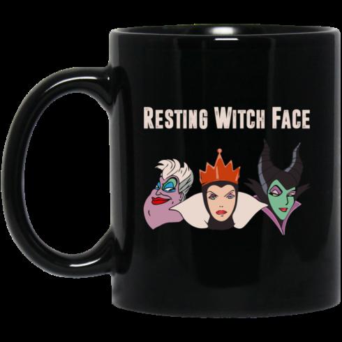 image 490x490px Resting Witch Face Disney Coffee Mug
