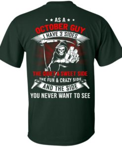 image 511 247x296px As a October guy I have 3 sides shirt