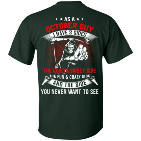 image 511 490x490px As a October guy I have 3 sides shirt