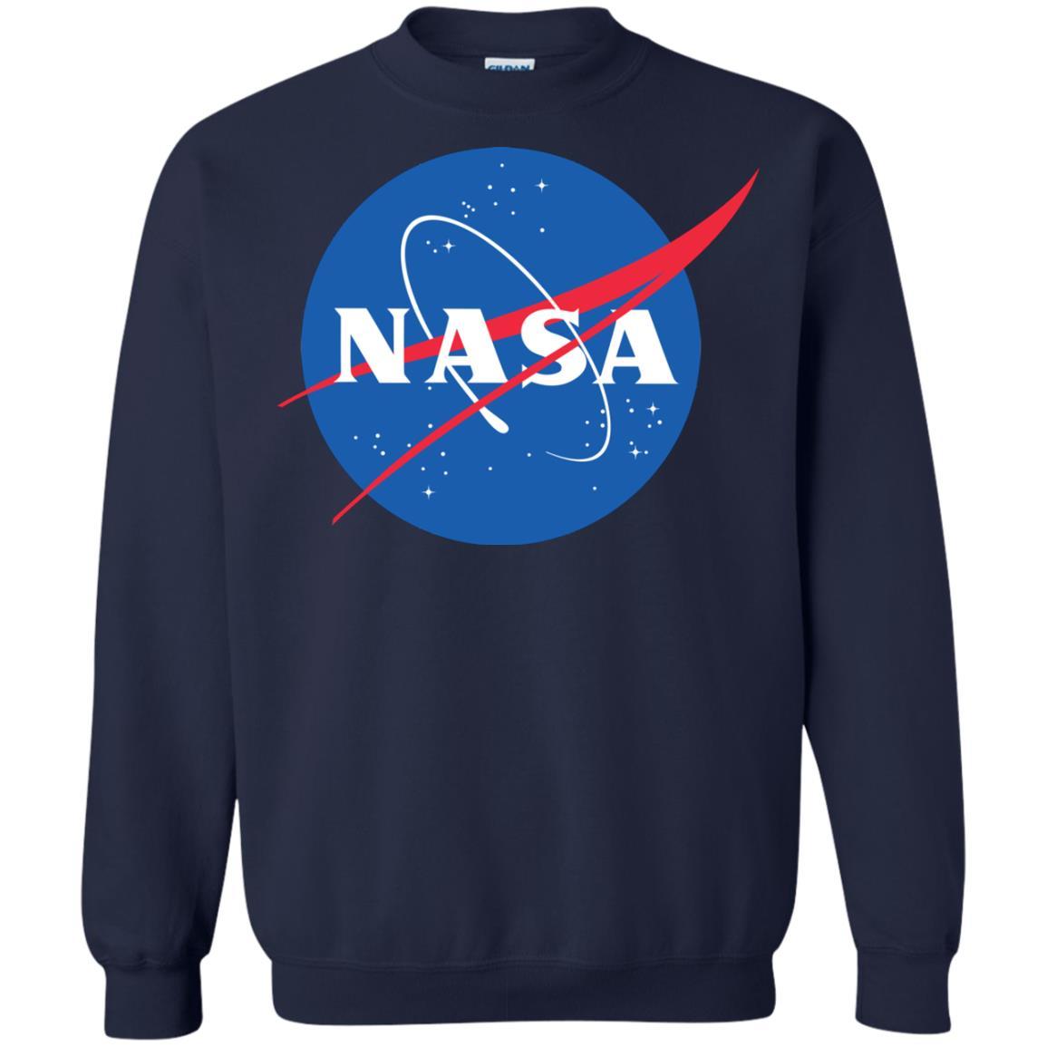 image 549px NASA Logo Sweater Unisex Christmas Sweatshirt