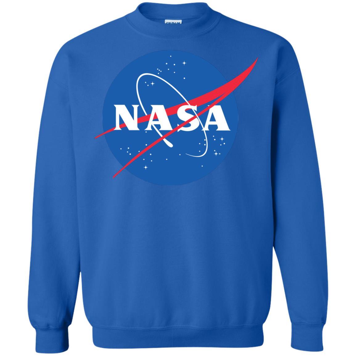 image 554px NASA Logo Sweater Unisex Christmas Sweatshirt
