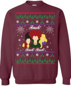 image 556 247x296px Hocus Pocus Amuck Ugly Christmas Sweater