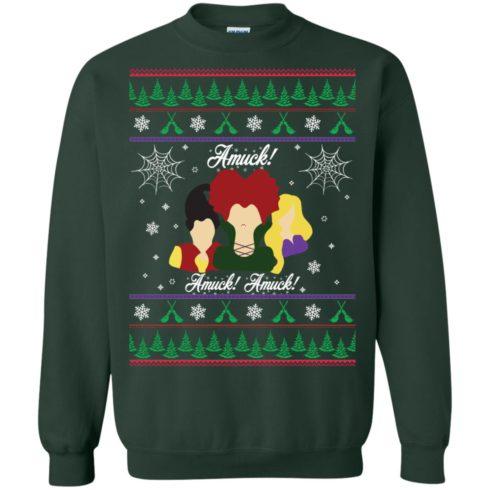 image 559 490x490px Hocus Pocus Amuck Ugly Christmas Sweater