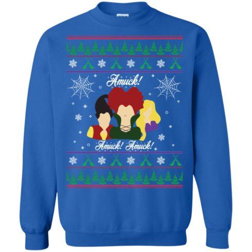 image 560 490x490px Hocus Pocus Amuck Ugly Christmas Sweater