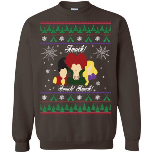 image 561 490x490px Hocus Pocus Amuck Ugly Christmas Sweater