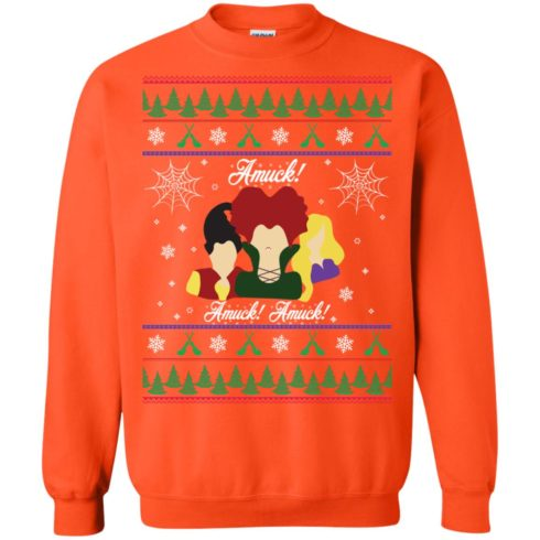 image 563 490x490px Hocus Pocus Amuck Ugly Christmas Sweater