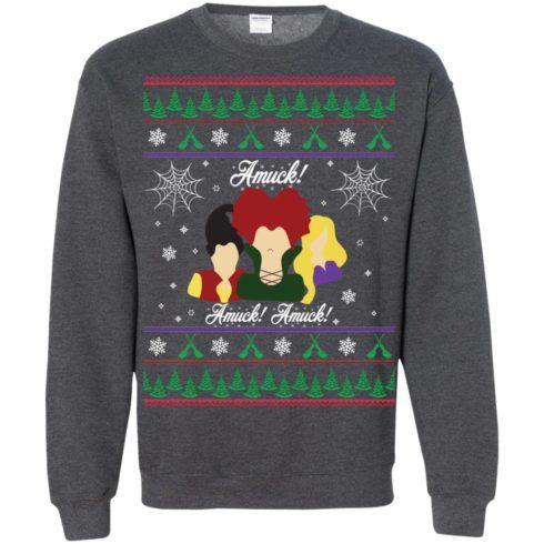 image 565 490x490px Hocus Pocus Amuck Ugly Christmas Sweater