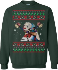 image 570 247x296px Harley Quinn Ugly Christmas Sweater Shirt