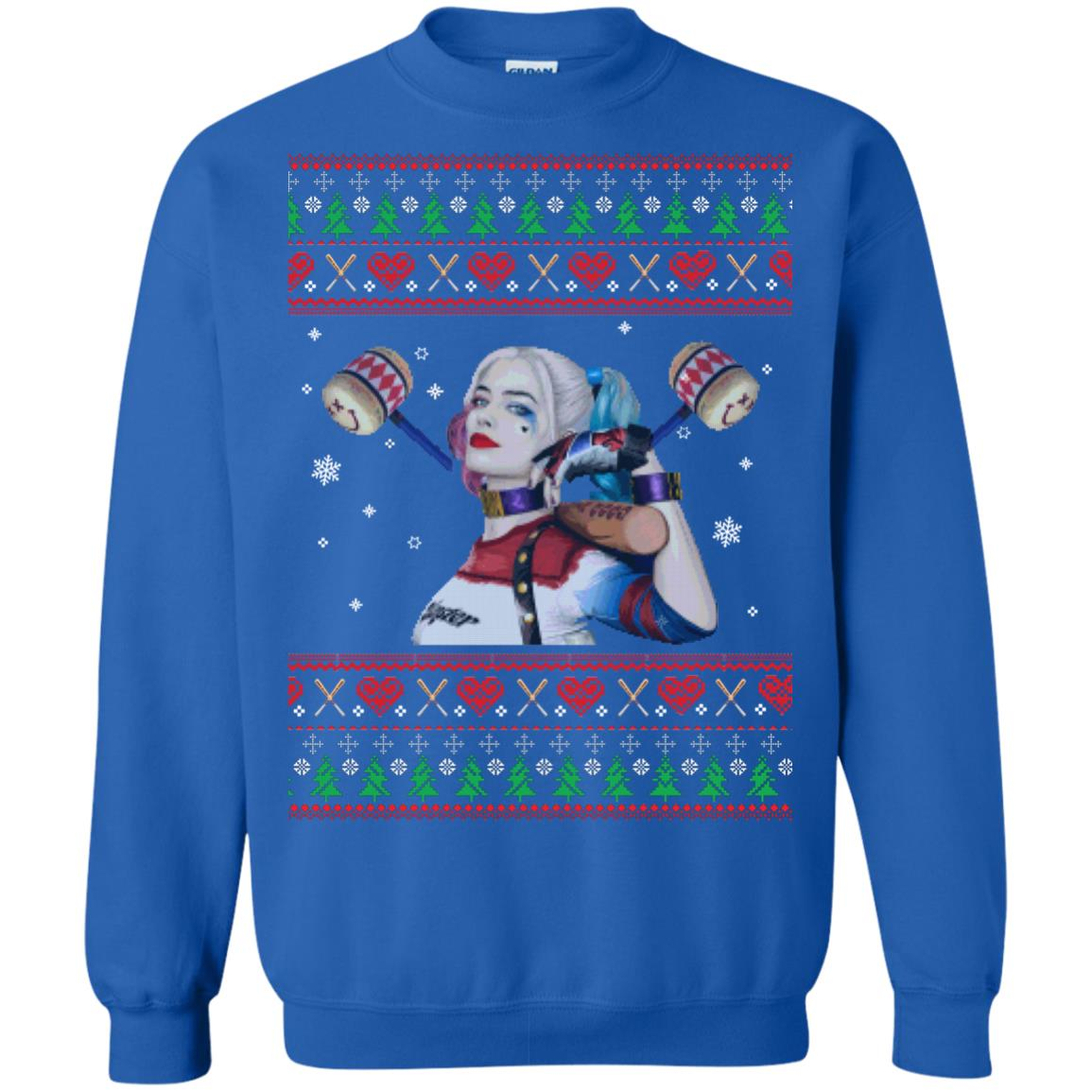 image 571px Harley Quinn Ugly Christmas Sweater Shirt