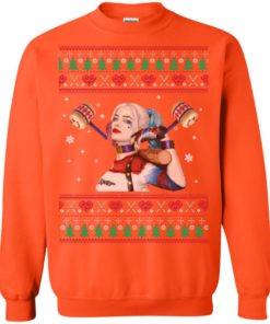 image 574 247x296px Harley Quinn Ugly Christmas Sweater Shirt