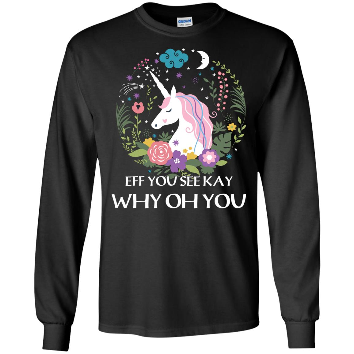 image 614px Unicorn: Eff You See Kay Why Oh You T Shirts, Hoodies, Tank