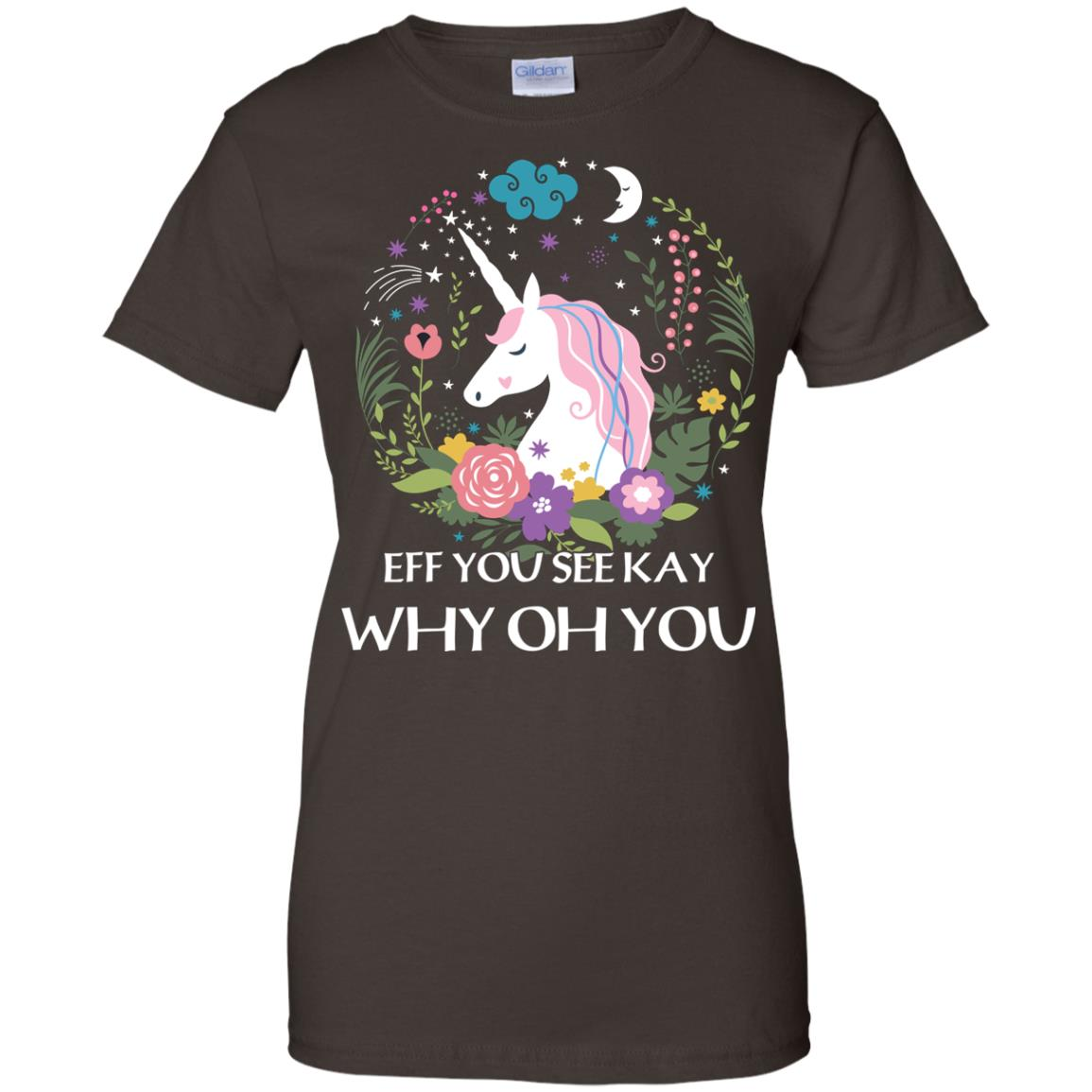image 621px Unicorn: Eff You See Kay Why Oh You T Shirts, Hoodies, Tank