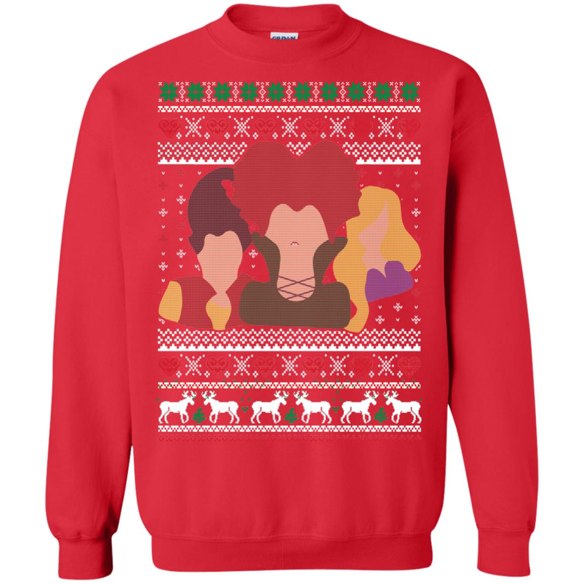 image 644px Hocus Pocus Ugly Christmas Sweater Shirt
