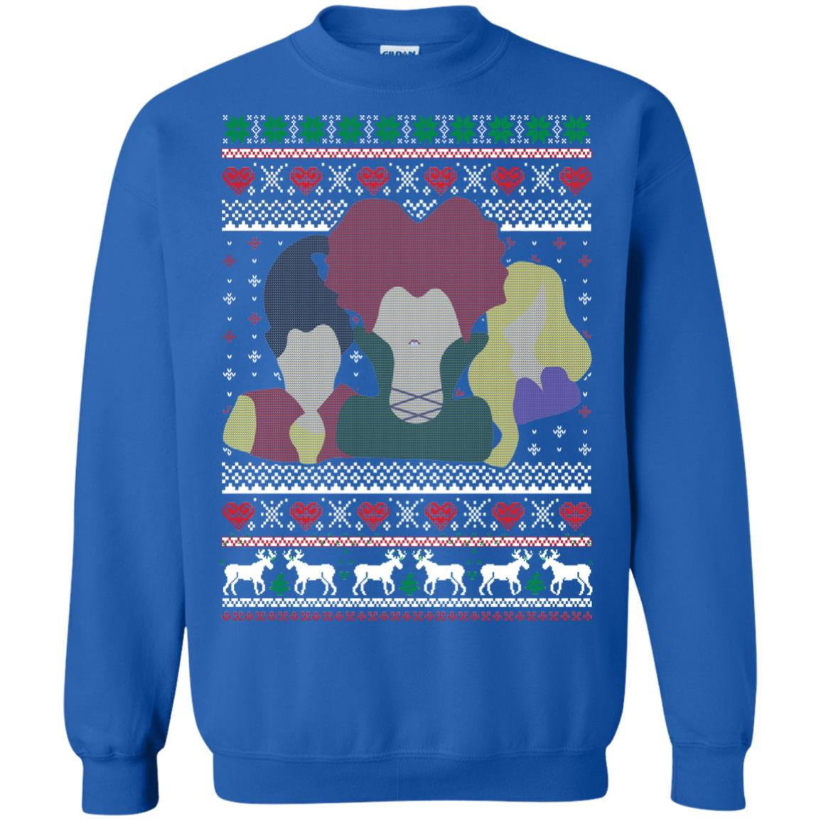 image 646px Hocus Pocus Ugly Christmas Sweater Shirt