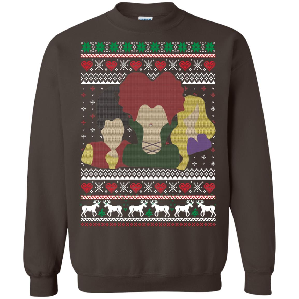 image 647px Hocus Pocus Ugly Christmas Sweater Shirt