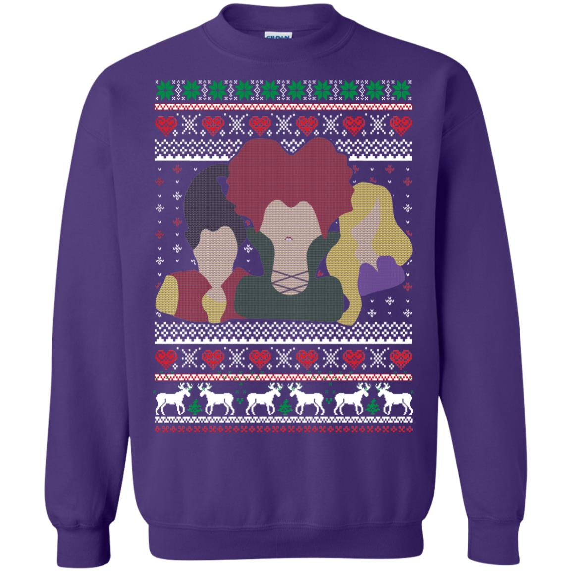 image 648px Hocus Pocus Ugly Christmas Sweater Shirt