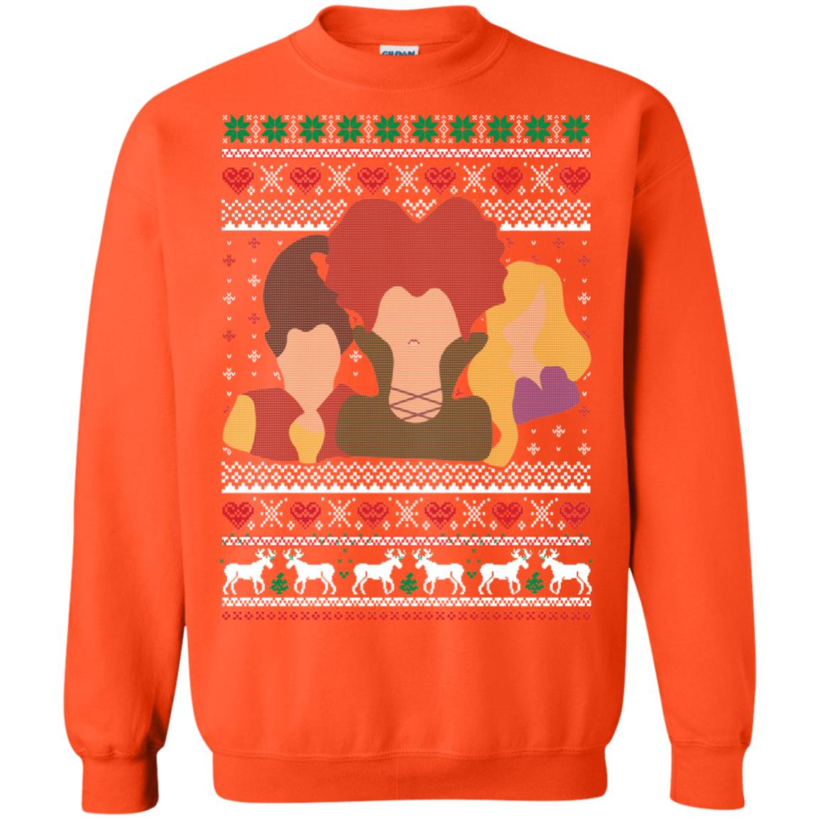 image 649px Hocus Pocus Ugly Christmas Sweater Shirt