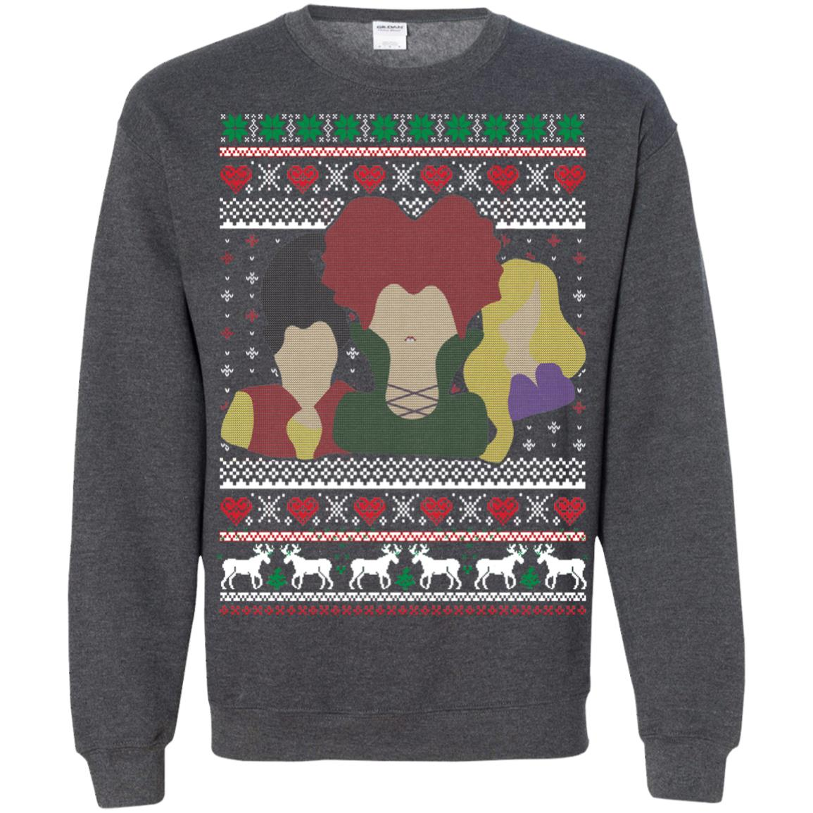 image 651px Hocus Pocus Ugly Christmas Sweater Shirt