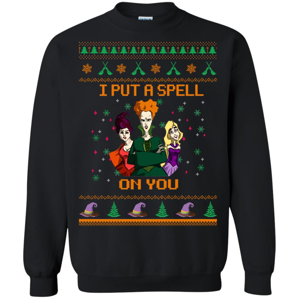 image 674px Hocus Pocus Put A Spell On You Christmas Sweater