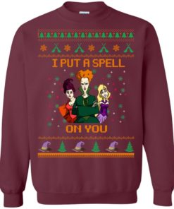 image 675 247x296px Hocus Pocus Put A Spell On You Christmas Sweater