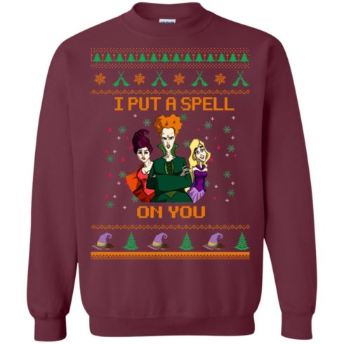 image 675 490x490px Hocus Pocus Put A Spell On You Christmas Sweater