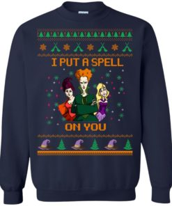 image 676 247x296px Hocus Pocus Put A Spell On You Christmas Sweater