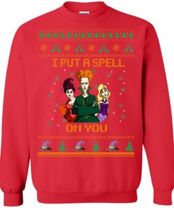 image 677 247x296px Hocus Pocus Put A Spell On You Christmas Sweater