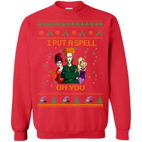 image 677 490x490px Hocus Pocus Put A Spell On You Christmas Sweater