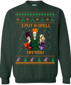 image 678 247x296px Hocus Pocus Put A Spell On You Christmas Sweater