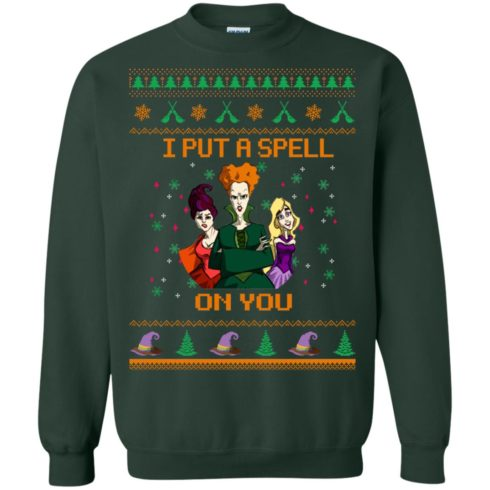 image 678 490x490px Hocus Pocus Put A Spell On You Christmas Sweater