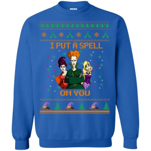 image 679 490x490px Hocus Pocus Put A Spell On You Christmas Sweater