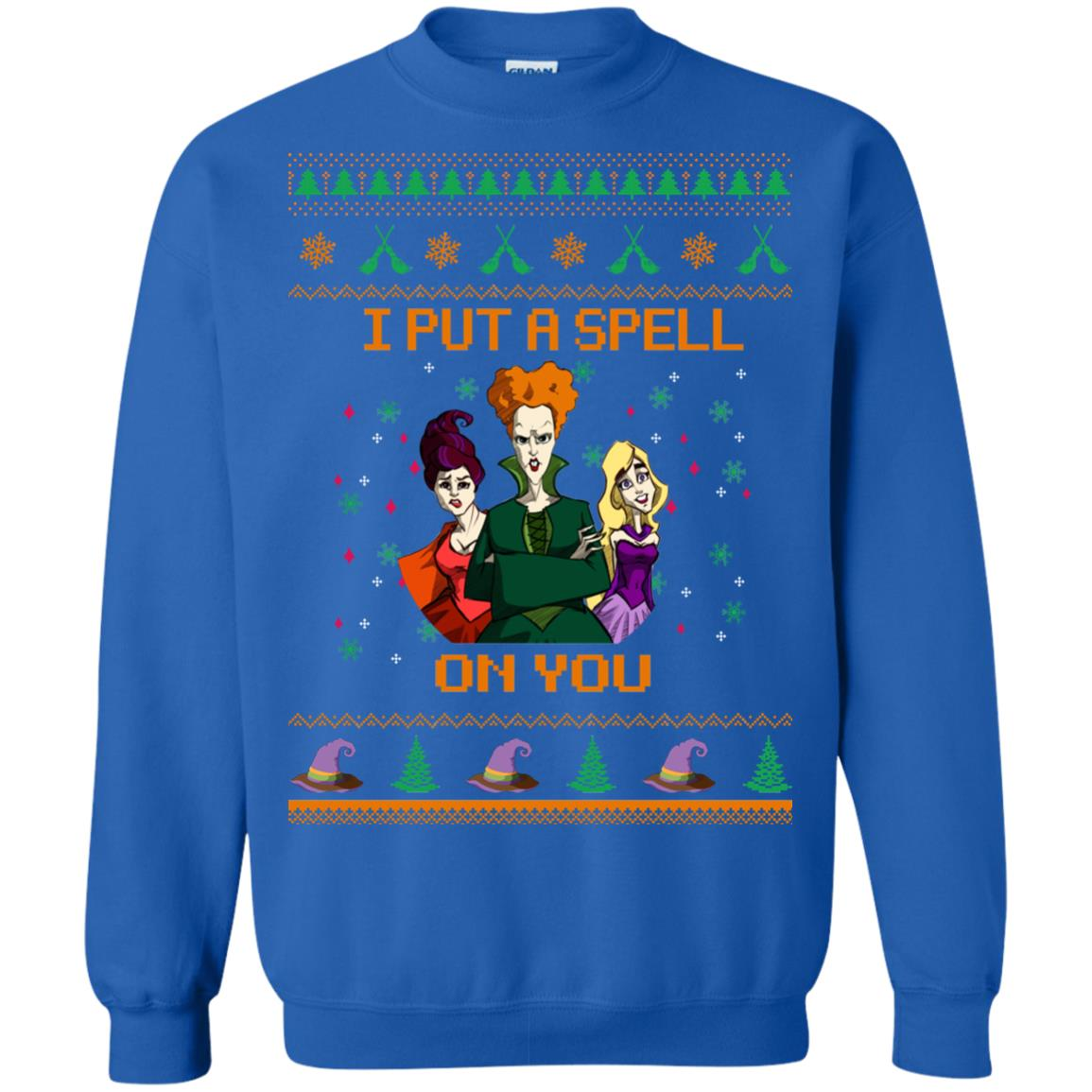 image 679px Hocus Pocus Put A Spell On You Christmas Sweater