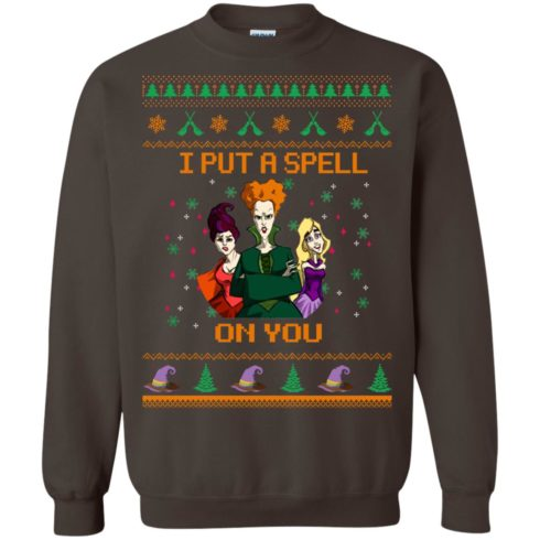 image 680 490x490px Hocus Pocus Put A Spell On You Christmas Sweater