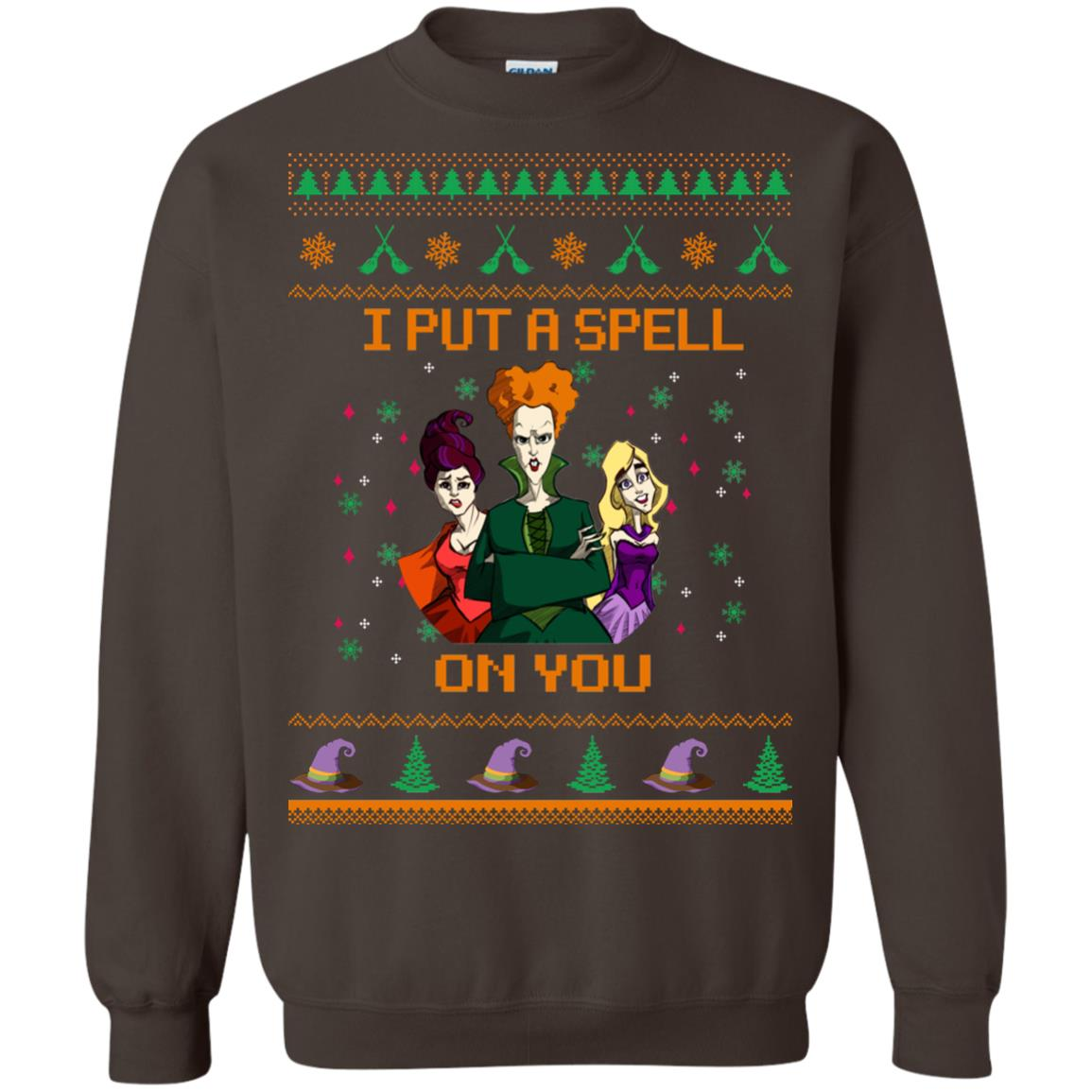 image 680px Hocus Pocus Put A Spell On You Christmas Sweater