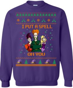 image 681 247x296px Hocus Pocus Put A Spell On You Christmas Sweater
