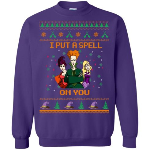 image 681 490x490px Hocus Pocus Put A Spell On You Christmas Sweater