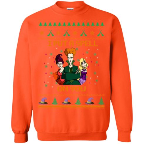 image 682 490x490px Hocus Pocus Put A Spell On You Christmas Sweater