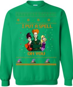 image 683 247x296px Hocus Pocus Put A Spell On You Christmas Sweater