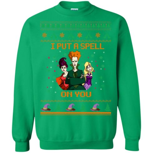 image 683 490x490px Hocus Pocus Put A Spell On You Christmas Sweater