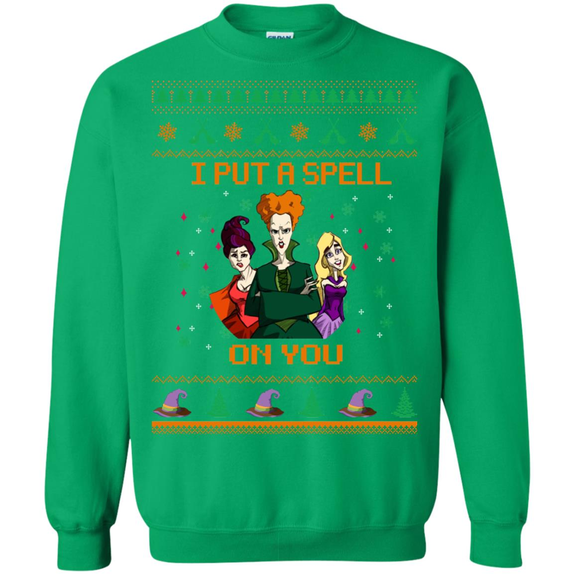 image 683px Hocus Pocus Put A Spell On You Christmas Sweater