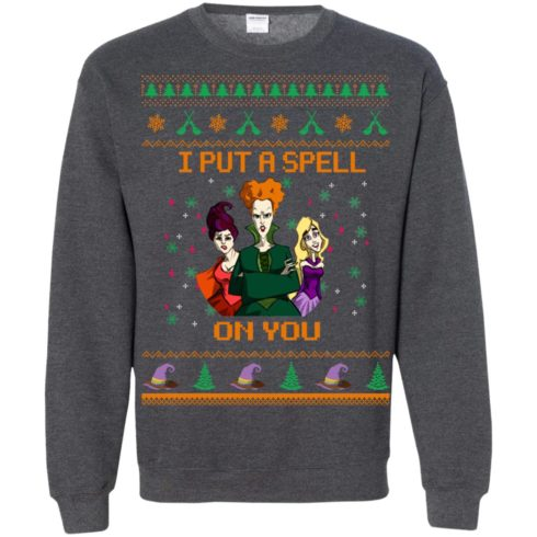 image 684 490x490px Hocus Pocus Put A Spell On You Christmas Sweater