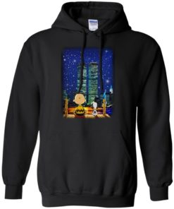 image 746 247x296px Snoopy and Charlie Brown World Trade Center 9/11 T Shirts, Hoodies, Tank
