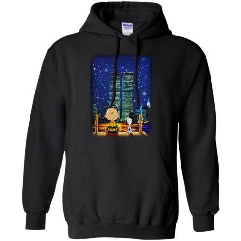image 746 490x490px Snoopy and Charlie Brown World Trade Center 9/11 T Shirts, Hoodies, Tank